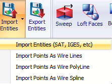 Getting Started Guide: Chapter 11  ANA: Importing SAT Files