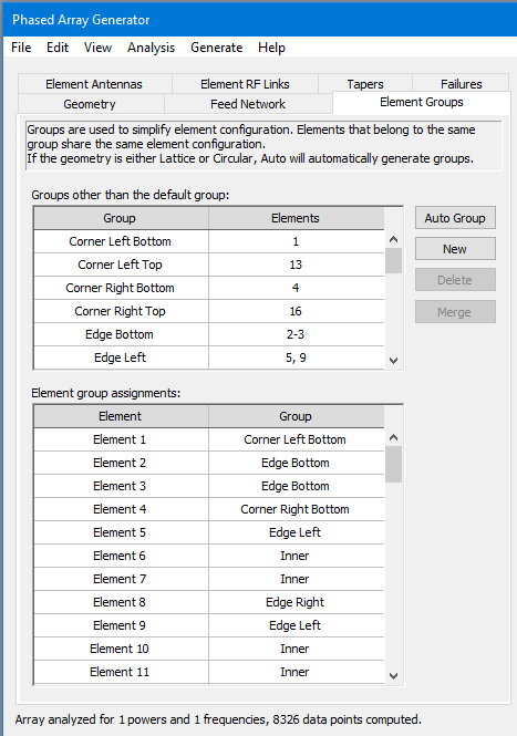 User Guide: 13 11  Phased Array Generator Wizard